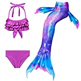 SPEEDEVE Traje de Baño Bikini Sirena para Niña,DH54-110
