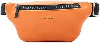 YWSCXMY-AU New Women Fanny Pack Multi-Function Chest Bag Ladies Belt Bag Banana Female Waist Pack (Color : Orange)
