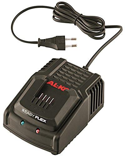 AL-KO 113560 Einfach-Ladegerät EasyFlex, 20 V/3 A, mit Ladestandsanzeige
