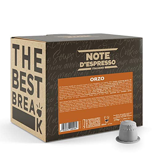 Note D'Espresso, Orzo, Capsule Compatibili Soltanto con Sistema sistema NESPRESSO*, 100 caps x 2.7g