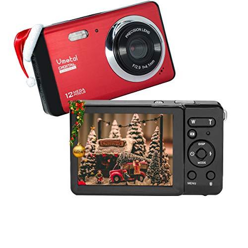 Cámara Digital 80X2   Zoom Digital 8X   12 MP   720P HD Pantalla LCD TFT de 2,8  Cámara Simple para niños Adolescentes Principiantes Los Ancianos