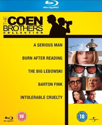 The Coen Brothers Collection - 5-Disc Box Set ( A Serious Man / The Big Lebowski / Burn After Reading / Barton Fink / Intolerable Cruelty ) ( Divorce Law [ Blu-Ray, Reg.A/B/C Import - United Kingdom ]