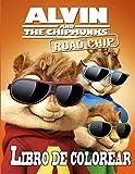 Alvin and The Chipmunks libro de colorear