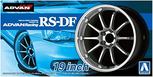 19 Zoll Advan Racing RS-DF Felgen & Reifen Set 1:24 Model Kit Bausatz Aoshima 053287