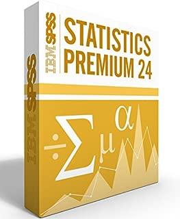 IBM SPSS Statistics Grad Pack Premium V24.0 12 Month License for 2 Computers Windows or Mac