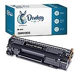 DONKEY PC Cartucho tóner Compatible para 125A CB540A Negro. Reemplazo para HP ColorLaserJet CP1215, CP1515, CP1518, CM1312 y CP151n. 2.200 páginas Impresas. 1 Cartucho Toner Negro.