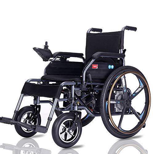 ZCPDP Leichtgewichtiger Rollstuhl, Elektrorollstuhl Faltbarer, leichtester, kompaktester Elektrorollstuhlantrieb mit Elektroantrieb oder manuelle Rollstühle für ältere Menschen