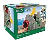 BRIO World 33481 Magischer Tunnel – Eisenbahnzubehör für die BRIO Holzeisenbahn – Kleinkinderspielzeug mit Effekten empfohlen für Kinder ab 3 Jahren