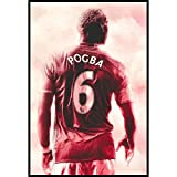 ZHINING Paul Pogba Professionelle Fußballspieler Star