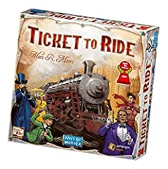 Bundled with the Again Products Guarantee: An authentic, real, and new product. Also, if you don't like it we will let you return for 60 days! More than Amazon! 2 to 5 Players -Easy-to-learn, vastly replayable! -60 Minutes Connect Trains from Canada ...