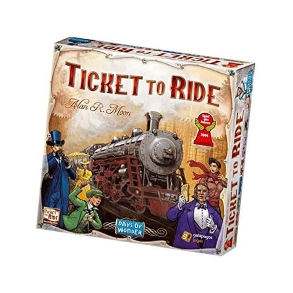 Ticket to Ride United States of America Map | 2 to 5 Players, 60 Minutes | Connect...