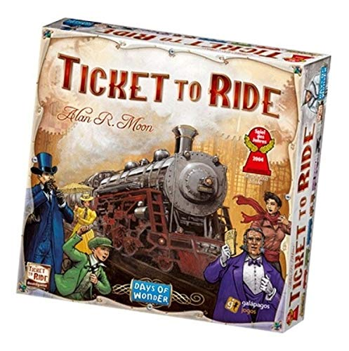 Ticket to Ride United States of America Map | 2 to 5 Players 60 Minutes | Connect Trains from Canada to Mexico
