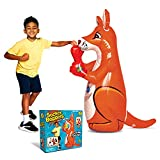 Socker Boppers Kangaroo! BOP Bag! Sock it, Bop it, Punch it and it bounces Back, More Fun Than a Pillow Fight, Outlet for Active Kids, Develops Agility-Balance-Coordination-Athletic Ability