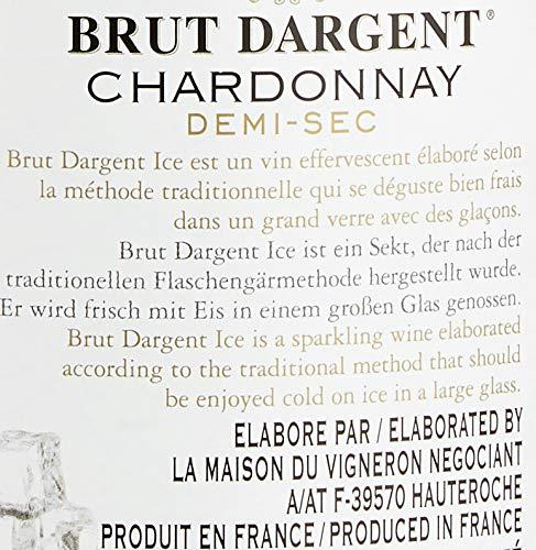 Brut Dargent Ice Chardonnay Méthode Traditionnelle HalbTrocken Sekt (1 x 0.75 L) - 5