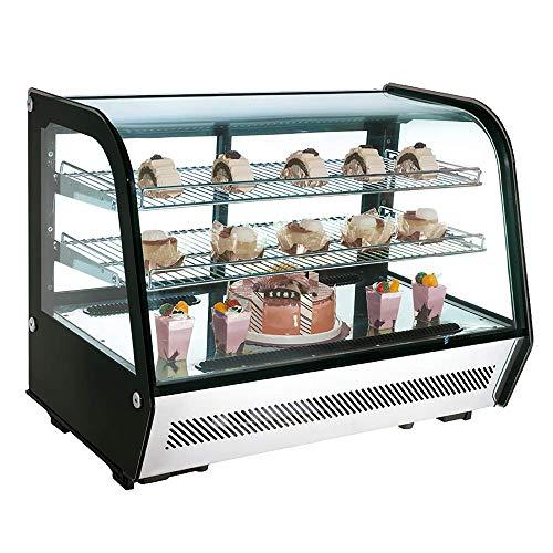 Vitrina expositora refrigerada pequeña sobre mostrador - Maquinaria Bar Hostelería