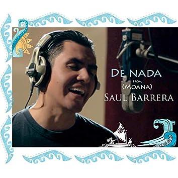 """De Nada (From """"Moana"""")"""