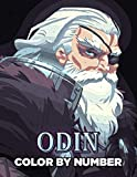 Odin Color By Number: Father Of Thor Marvel Cinematic Universe Comic Illustration Color Number Book For Fans Adults Creativity Gift.