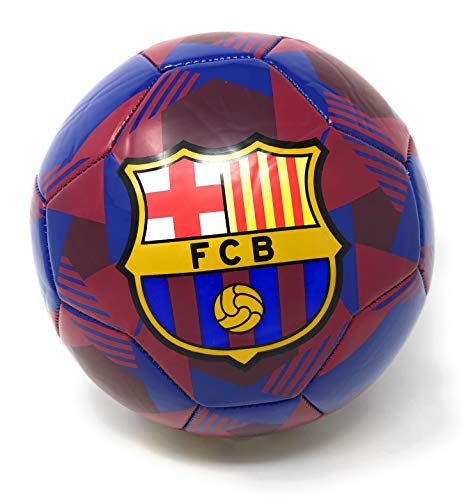 FC Barcelona Soccer Ball Size 5 Messi Barca Futbol Balon de Futbol Official Licensed - Great for Kids Soccer Ball, Players, Trainers, Coaches | Soccer Training | Practice | Shooting Drills | Skills