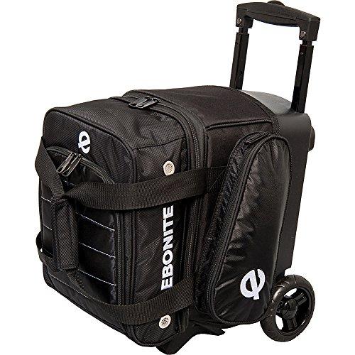 Ebonite Eclipse Single Roller Bowling Bag, schwarz