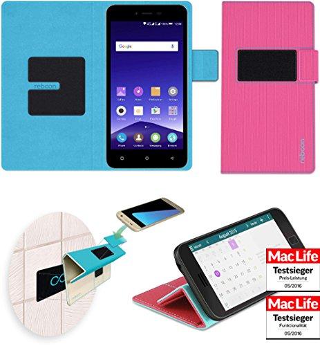 reboon Hülle für Mobistel Cynus E7 Tasche Cover Case Bumper   Pink   Testsieger