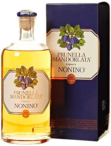 Distillerie Nonino, Prunella Mandorlata Liquore leggero e delicato - bottiglia in vetro da 700 ml