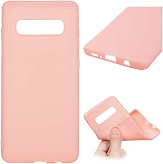 ❥Waymine Compatible for Samsung Galaxy S10/ S10E/ S10 Plus Phone case Cover, Soft Silicone TPU Case Cover (The Phone not Included)