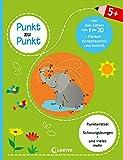 Punkt zu Punkt - Mit den Zahlen von 1 bis 20 (grün): Punkterätsel für Kinder ab 5 Jahre