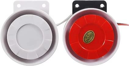 BNYZWOT Electronic Buzzer Continuous Sound Decibel Piezo Buzzer IC Alarm Speaker 120db DC12V 2Pcs