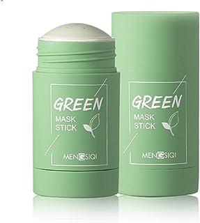 Green Tee Purifying Clay Stick Mask oliecontrole gezichtsmasker, stick Deep Cleansing anti-acne-masker fijn solide masker ...
