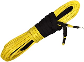 heavy duty synthetic winch rope