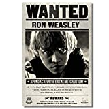 WXUEH Hp Wollte Hermine Poster Ron Weasley Wandaufkleber
