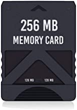 RGEEK 256MB High Speed Game Memory Card Compatible with Sony Playstation 2 PS2