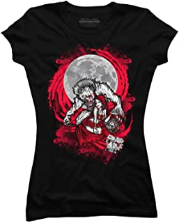 Design By Humans Red Riding Hood Juniors' Graphic T Shirt