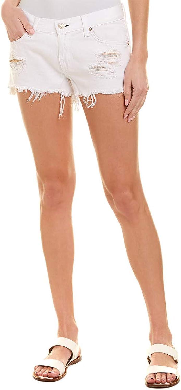Rag & Bone Womens Denim Distressed Cutoff Shorts
