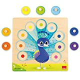 Goula- Puzzle pavo real, Multicolor (Ref: 453060) , color/modelo surtido