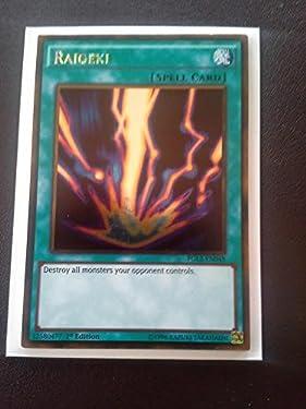 YU-GI-OH! - Raigeki (PGL2-EN048) - Premium Gold: Return of The Bling - 1st Edition - Gold Rare