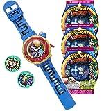 Yo-kai Watch Montre parlante Modèle Zéro + 3 sachets de 2 médailles Yo-Motion
