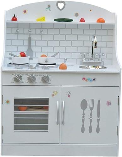 la mejor selección de SXPC Juego de Cocina de simulación para para para Niños, Niños y niñas, Cocina, cocinas de Madera, educación temprana, Juguetes educativos, Regalos  vendiendo bien en todo el mundo