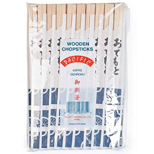 Unidades 40 x pares de palillos chinos desechables | Hashi