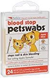 Petkin Blood Stop Swabs for Cat & Dogs (Pack of 24)