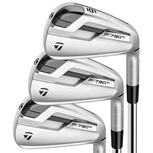 Best Prices! TaylorMade Golf P790Ti Iron Set 5-PW, AW Graphite Right Hand Regular Flex