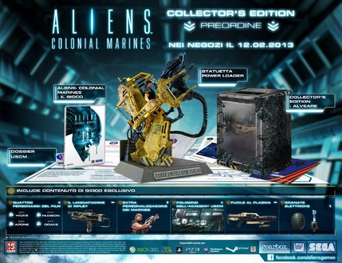 Aliens: Colonial Marines - Collector'S Edition [Importación Italiana]