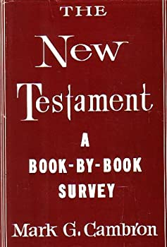 Hardcover The New Testament;: A book-by-book survey Book