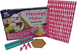 Alphabet Cookie Stamp Set of 162 Small Stamps