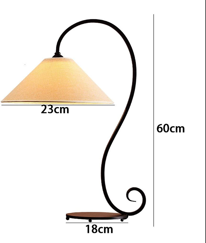 AME Nachttischlampe Nordic Nordic Nordic American, Mittelmeer Schlafzimmer Wohnzimmer Studie Modern Minimalist Retro Schmiedeeisen Tischlampe B07JFT4DYH     | Ausgezeichnet  861f91