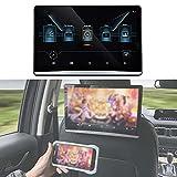FANGX Pantalla Reposacabezas para Coche De 12,5'Android 9.0, DVD Portatil Coche,Soporte De Sistema Multimedia para Coche WiFi, Netflix, Youtube, Bluetooth, Espejo de teléfono, HDMI, USB