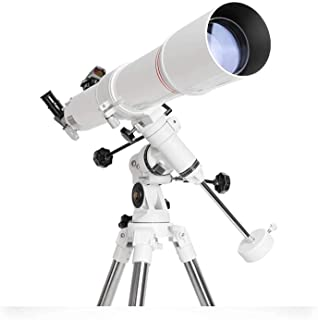 Stargazing Travel Telescope for Adults,900Mm Az Mount Astronomical Refracting Telescope,Low Light Nightwaterproof,with Pho...