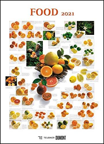FOOD 2021 – Lebensmittel-Warenkunde – Küchen-Kalender von DUMONT– Poster-Format 49,5 x 68,5 cm