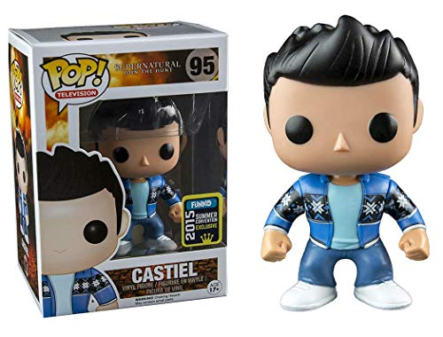 Funko - Pop Collection - Supernatural - Castiel French Mistake SDCC 2015 - 0849803053130