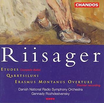 Riisager: Etudes / Qarrtsiluni / Erasmus Montanus Overture